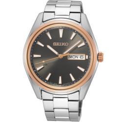 SEIKO 精工經典簡約紳士腕錶(6N53-00A0N)SUR344P1
