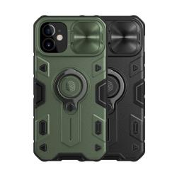 NILLKIN Apple iPhone 12 mini 黑犀保護殼(金屬蓋款)