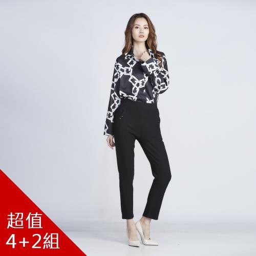 CLARE日本獨規金絲雪絨極彈纖腿褲-獨/