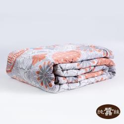 【岱妮蠶絲】精美絲棉緞蠶絲涼被0.7KG-浮世圖騰(LHS38E01)