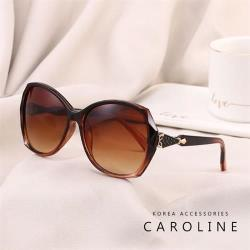 《Caroline》今年度最新網紅款潮流行時尚百搭抗UV太陽眼鏡 72480