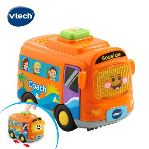 【Vtech】嘟嘟聲光互動車-巴士/