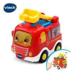 【Vtech】嘟嘟聲光互動車-消防車