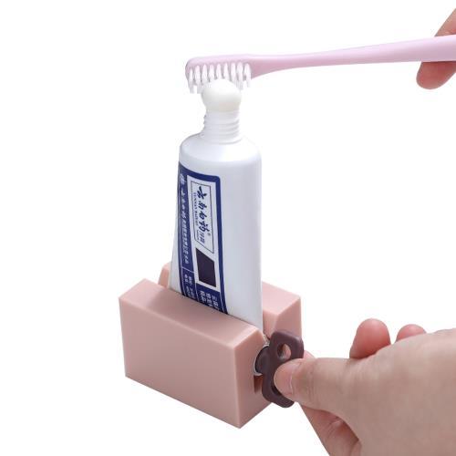 4入-牙膏擠壓器手動擠牙膏器化妝品洗面乳擠壓器