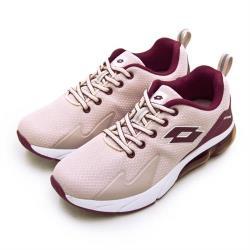 【LOTTO】女 專業避震氣墊慢跑鞋 VOLARE RUN系列(藕粉紫 1003)