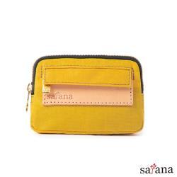 【satana】Soldier 小巧零錢包/鑰匙包-古金黃