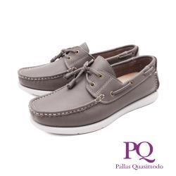 PQ(男)輕量雷根鞋 帆船鞋 男鞋 - 灰(另有藍)