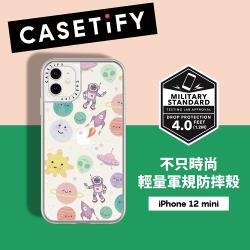 Casetify iPhone 12 mini 輕量耐衝擊保護殼-星際探險