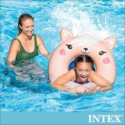 INTEX 可愛動物造型泳圈-3款造型可選-適用8歲以上(59266)