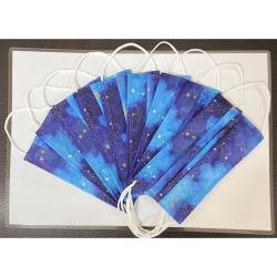 菲凱樂藍色星空系列防護口罩必收藏(二盒)