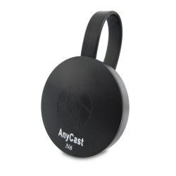 【六代N6】圓形六扇款Anycast雙核全自動無線影音傳輸器(送4大好禮)