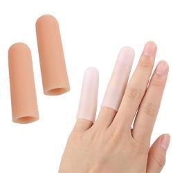 (JHS杰恆社)預購los0116貳組SEBS手指套防滑水耐磨防護滋潤保濕套護指女手指頭套閉口套