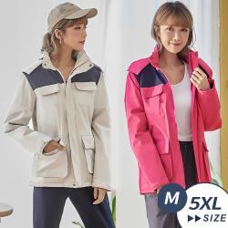 【LANNI 藍尼】現貨 時尚簡約防風保暖三合一衝鋒外套
