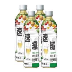 紅牌 速纖纖維飲料495ml(4入/組)