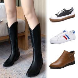 【經典不敗年度激殺】WS 秋季復古西部牛仔靴(長靴/靴子)-5款
