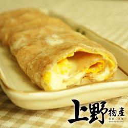 【上野物產】台灣營養素食全麥蛋餅皮 (1800g±10%/30片/包) x5包
