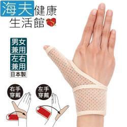 百力肢體裝具(未滅菌) 海夫健康生活館 ALPHAX 遠紅外線拇指護腕固定帶(左右兼用/1入) 日本製