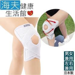 百力肢體裝具(未滅菌)  海夫健康生活館  ALPHAX 醫護膝蓋支撐固定帶 1入 日本製