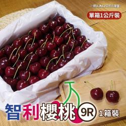 坤田水果 智利櫻桃9R等級(1箱)單箱1公斤
