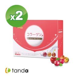 【Tanda藤達生技】蔓越莓+nippi膠原蛋白粉*2盒  (30包/盒裝粉包食品)