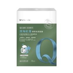 《台塑生醫》Drs Formula深海紅藻膠原保濕面膜(5片/盒)