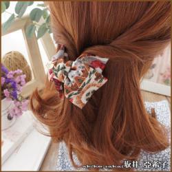 『Akiko Sakai坂井亞希子』聖托里尼花漾風情復古浪漫造型髮抓夾