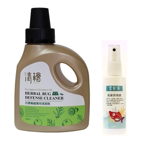 【清檜】抗菌驅蟲萬用清潔劑