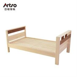 【Artso 亞梭】KOTOKA日本檜木單層床(床架/單人床架/實木/成人/兒童)