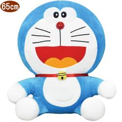 哆啦A夢絨毛娃娃玩偶坐姿65公分 ST10540【卡通小物】