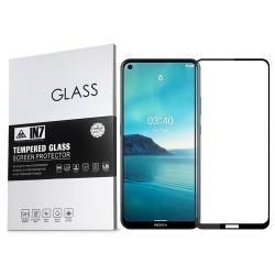 IN7 Nokia 3.4 (6.39吋) 高清 高透光2.5D滿版9H鋼化玻璃保護貼 疏油疏水 鋼化膜