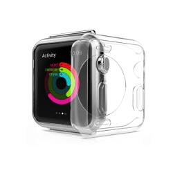 Apple Watch 38/40/42/44mm 裸機質感 透明邊框保護殼套