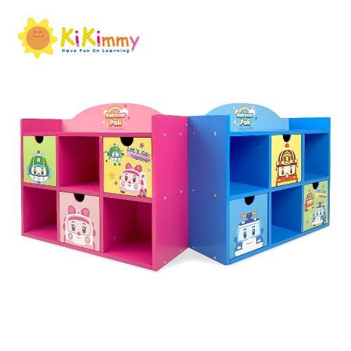 kikimmy救援小英雄積木收納櫃(兩款可選)