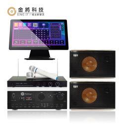 【金將科技】KKPAD 21.5吋安卓雲端觸控屏優美好聲音卡拉OK/KTV組