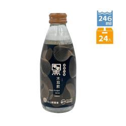 【冬山鄉農會】有機黑木耳飲 (246毫升x24瓶/箱)