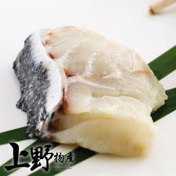 【上野物產】台灣石斑魚帶皮清肉片(200-300g/片) x3片
