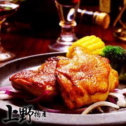 【上野物產】香甜吮指蜜汁雞腿排(100g±10%/片)x20片