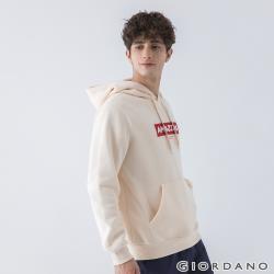 GIORDANO 男裝MY LIFE連帽T恤 (多色任選)