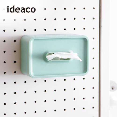 日本 ideaco 壁掛/桌上兩用餐巾紙盒(內徑17X10.6X7.5CM)