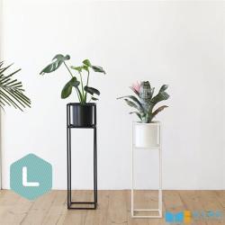 【MH 家居】艾爾莎立式花架-L(花器/盆栽)