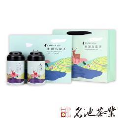 【名池茶業】茶園詩歌手採凍頂烏龍茶茶葉禮盒(150gx2/盒)