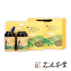 【名池茶業】田園氣息台灣高山鮮採烏龍茶葉禮盒(150gx2/盒)