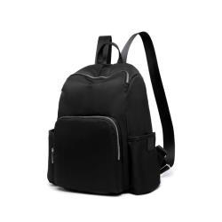 Heine 海恩 WIN-188 流行女包 媽媽包 尼龍後背包 防潑水後背包 時尚媽咪包 媽媽後背包 牛津包 包包 - 黑色
