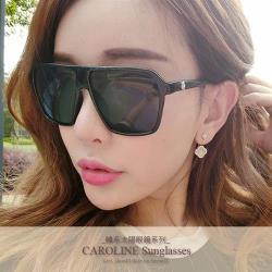 《Caroline》年度最新網紅款潮流百搭抗UV時尚太陽眼鏡 71934