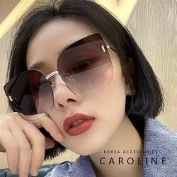 《Caroline》年度最新網紅款潮流行百搭抗UV時尚太陽眼鏡 72564