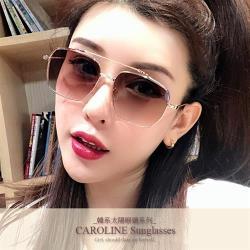 《Caroline》年度最新網紅款潮流百搭抗UV時尚太陽眼鏡 71931