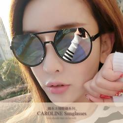 《Caroline》年度最新網紅款潮流百搭抗UV時尚太陽眼鏡 71939