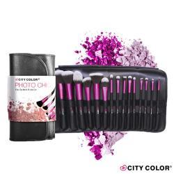 CITYCOLOR New York 玩色微奢華專業彩妆15件套刷組