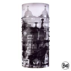 【BUFF】經典頭巾 Plus-城市系列-巴賽隆納 (BF123423-937) 彈性佳/機能