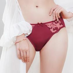 【U&Z】香芬開運 中腰三角褲(魅力紅)-台灣奧黛莉集團