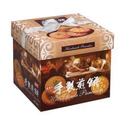 【盛香珍】手製煎餅禮盒(花生+綠藻) 570g/盒